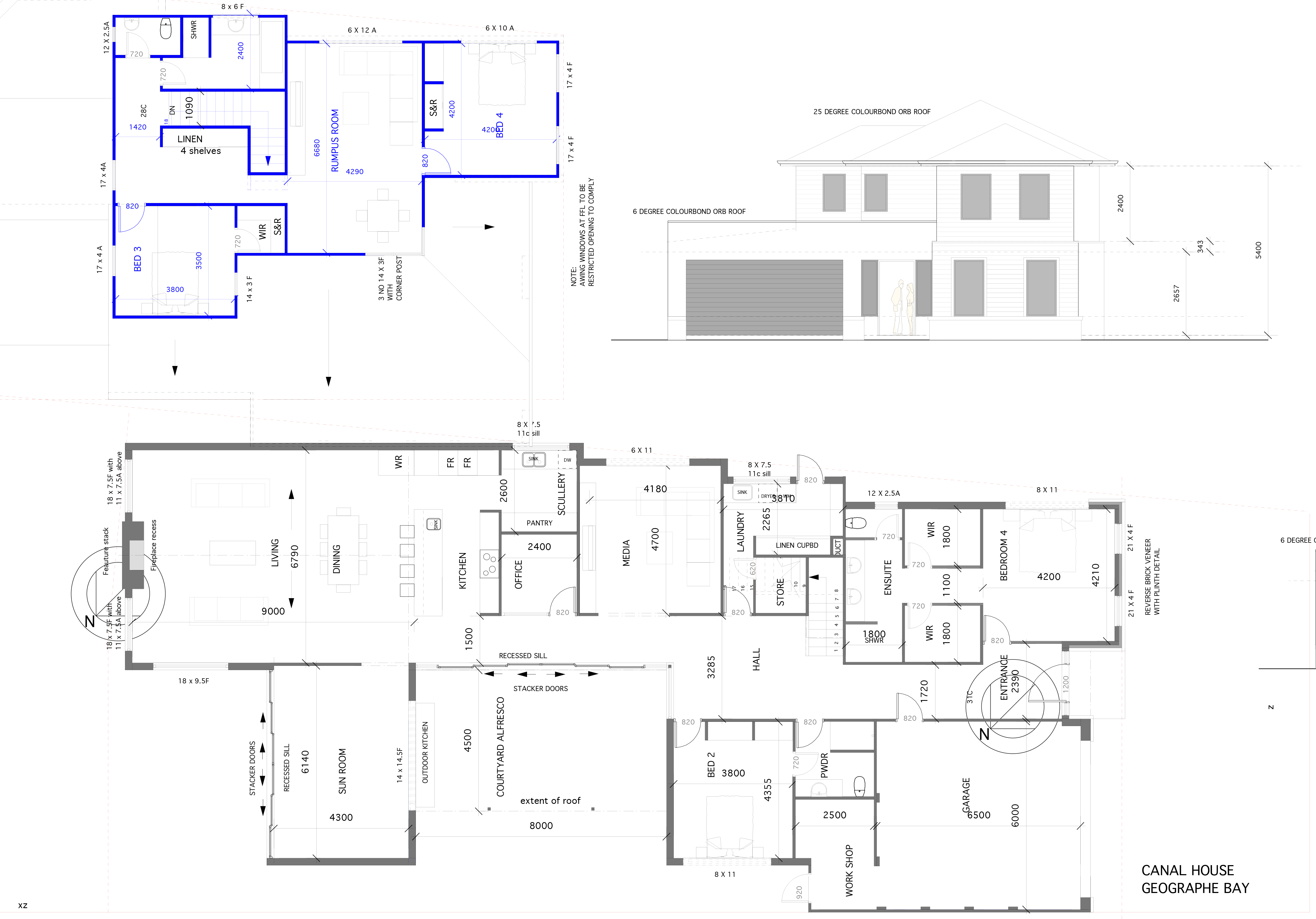 Busselton Home Design Floor Plan