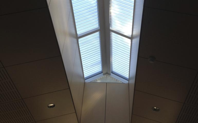 Rooflight constructed with Everbright roof sheeting.